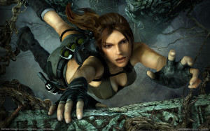 Lara Croft: Tomb Raider and the sacred quest to get as many TnA shots into promo material as possible.