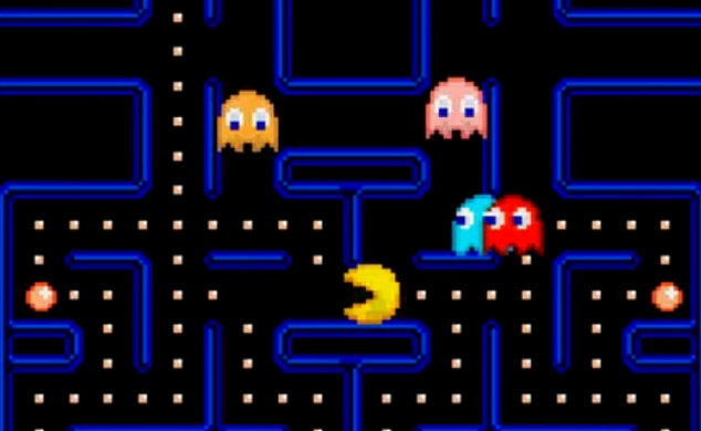 Pacman You Tube screen grab http://www.youtube.com/watch?v=0r4MRkwRZeU