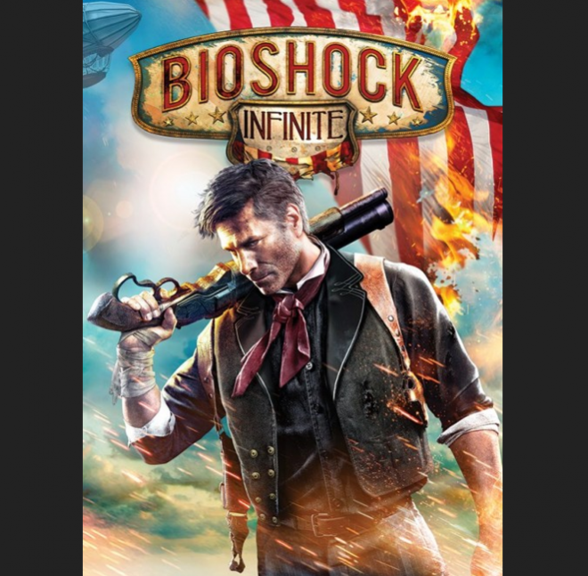 Bioshock Infinite Boxart and 32 Other Games Featuring an Armed White Man on the Cover