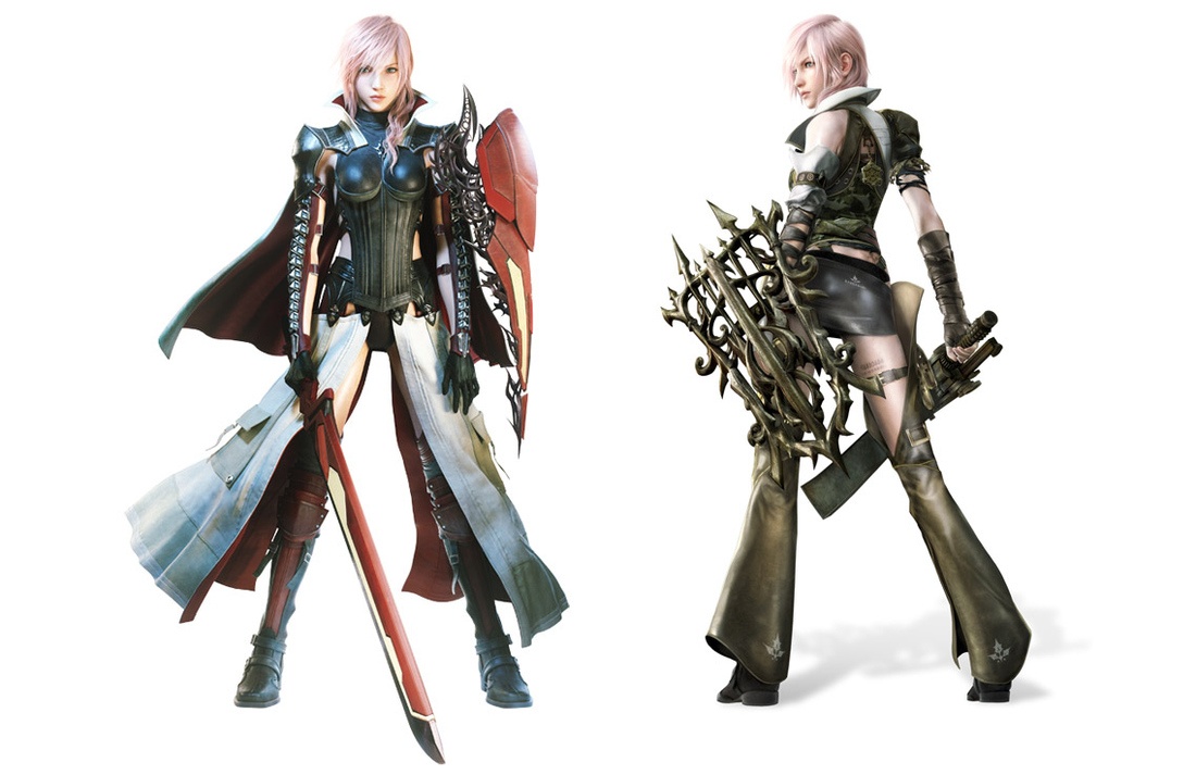 Women and Outfit Transformations-Lightning Returns versus Ar Tonelico III